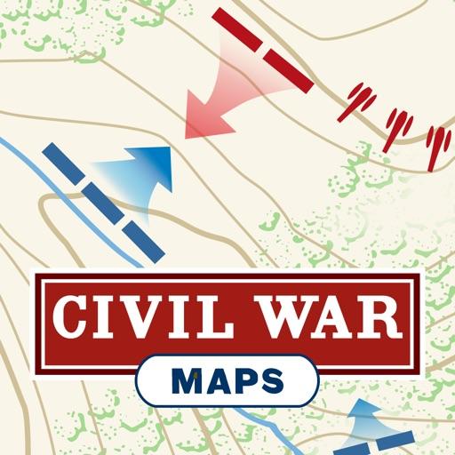 Civil War Battle Maps by American Battlefield Trust.