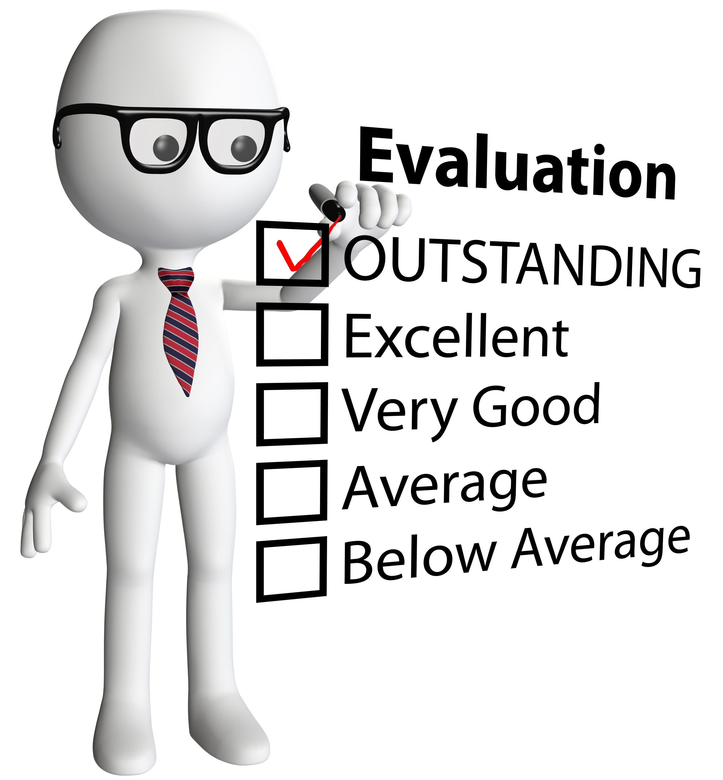 Employee Evaluation Clipart.