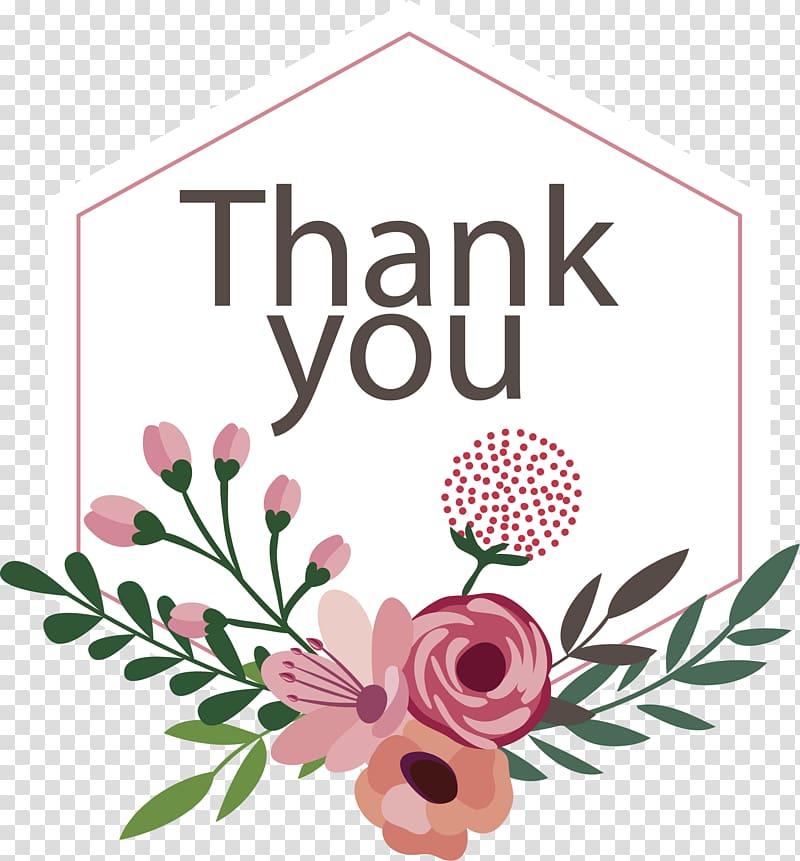 Thanks clipart flower, Thanks flower Transparent FREE for.