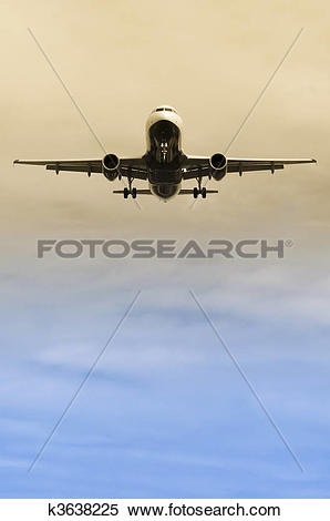 Stock Image of landing approach k3638225.