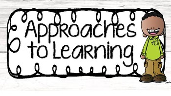 IB Approaches to Learning {Transdisciplinary Skills}.