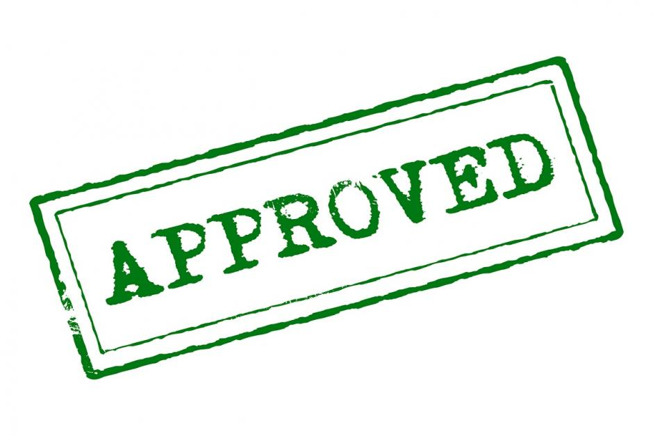 Stamp of approval clipart free.
