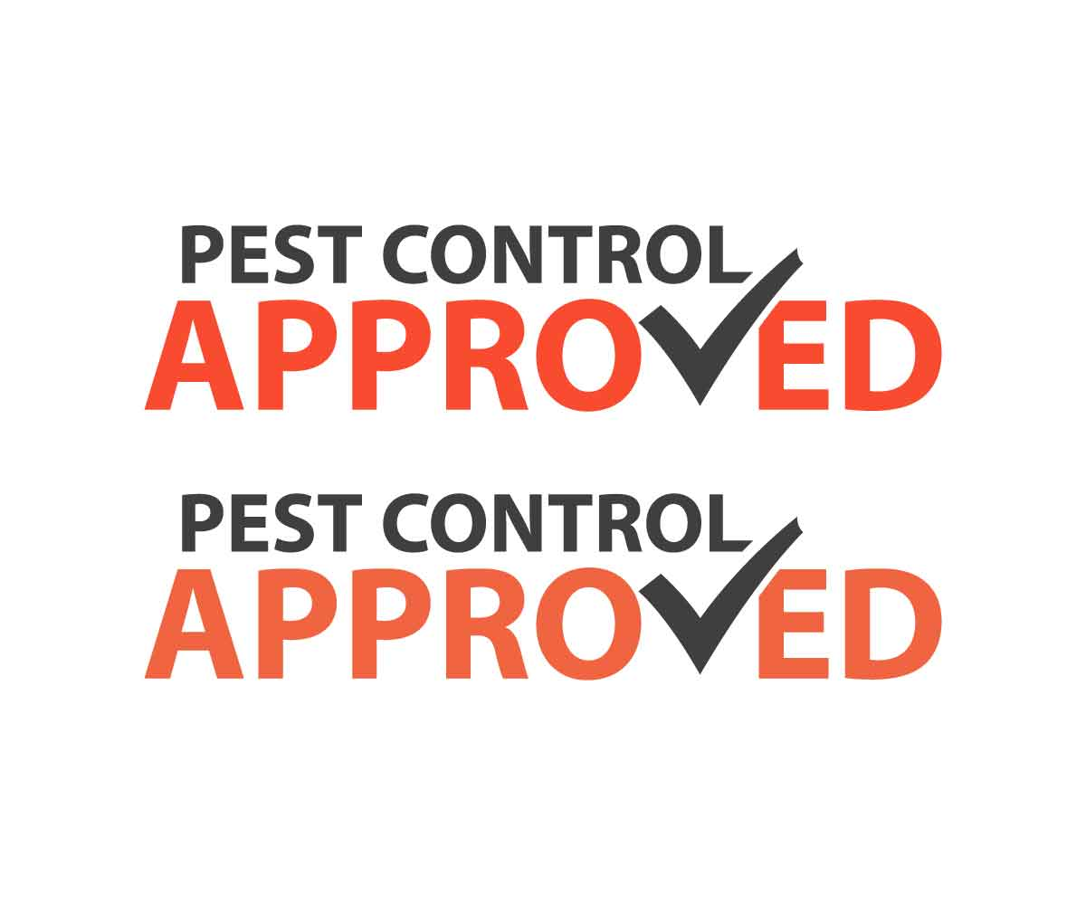 Bold, Traditional Logo Design for PEST CONTROL APPROVED by.