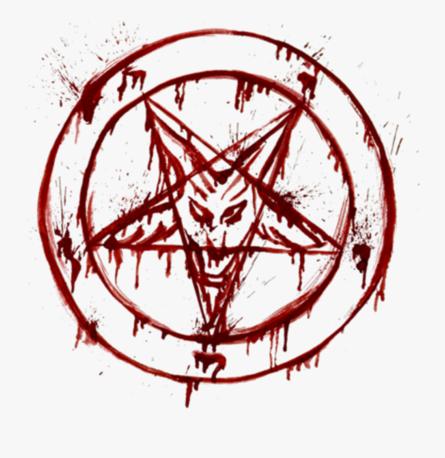 Bloody Pentagram Png , Free Transparent Clipart.