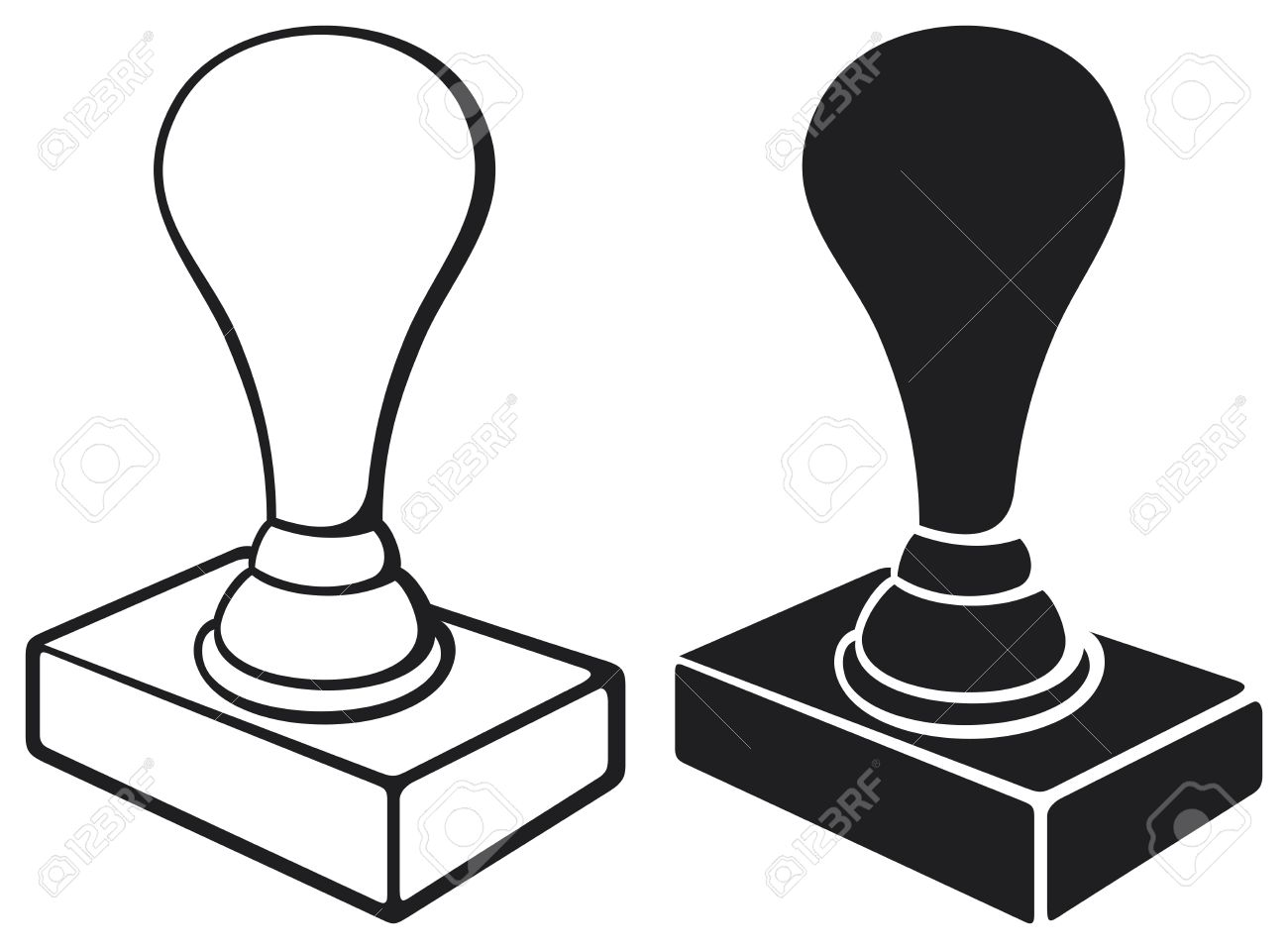Rubber stamp clipart 2 » Clipart Station.