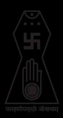 Jain symbols.