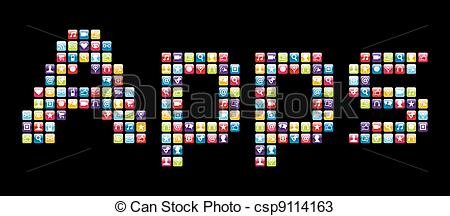 Apps Stock Illustrations. 381,892 Apps clip art images and royalty.