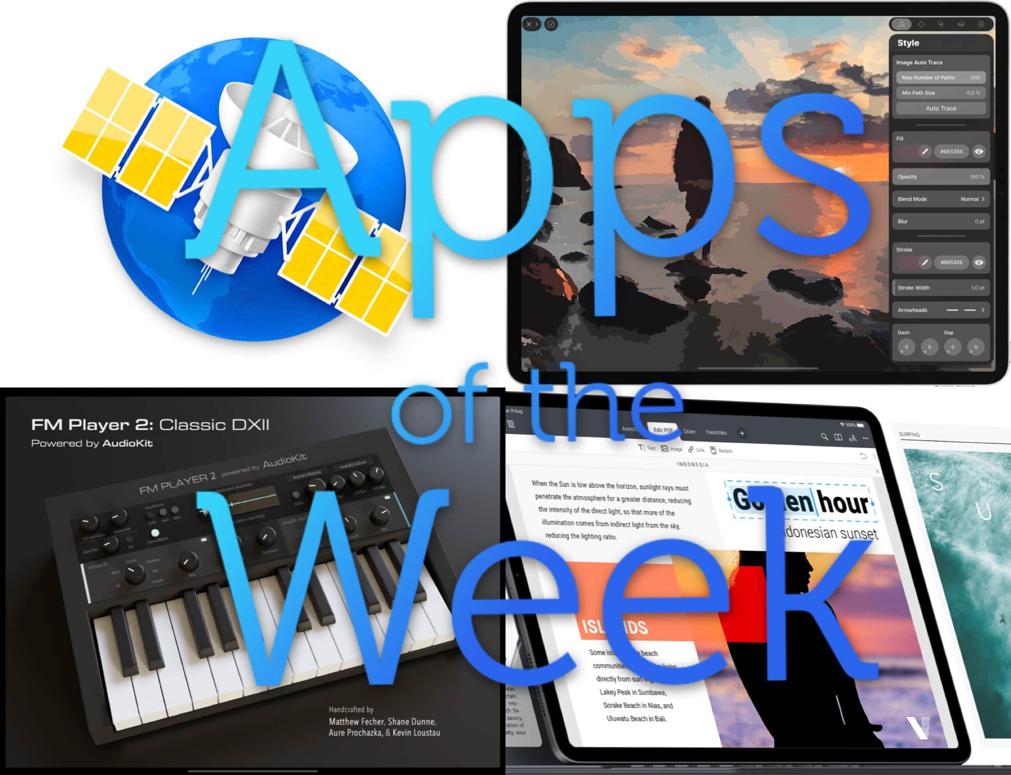 The best news, design and music apps anywhere in the world.