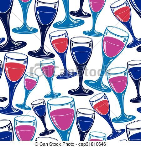 alcool, wineglasses, continuo, pattern., tema, sofisticato, idea., fondale,  classico, appuntamento, elegante, vino, calici, romantico.