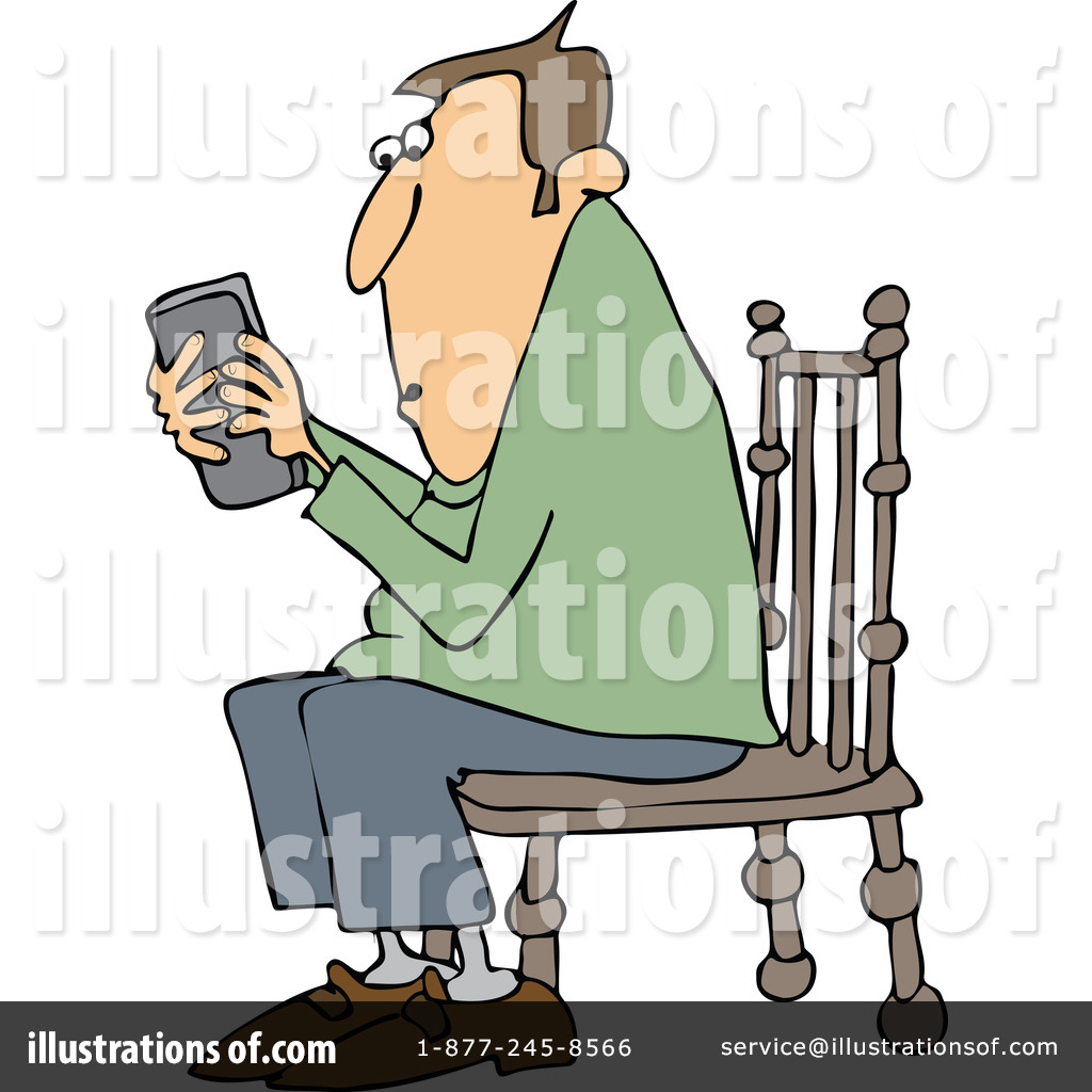 Texting Clipart #1154596.
