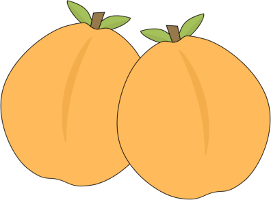 Apricot Clipart.