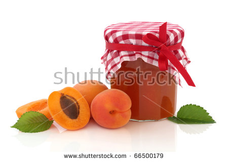 Apricot Jam Stock Photos, Royalty.