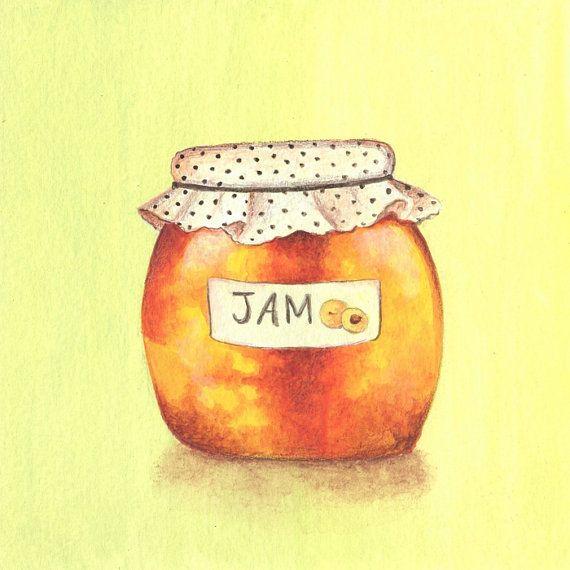 Apricot jam clipart #11