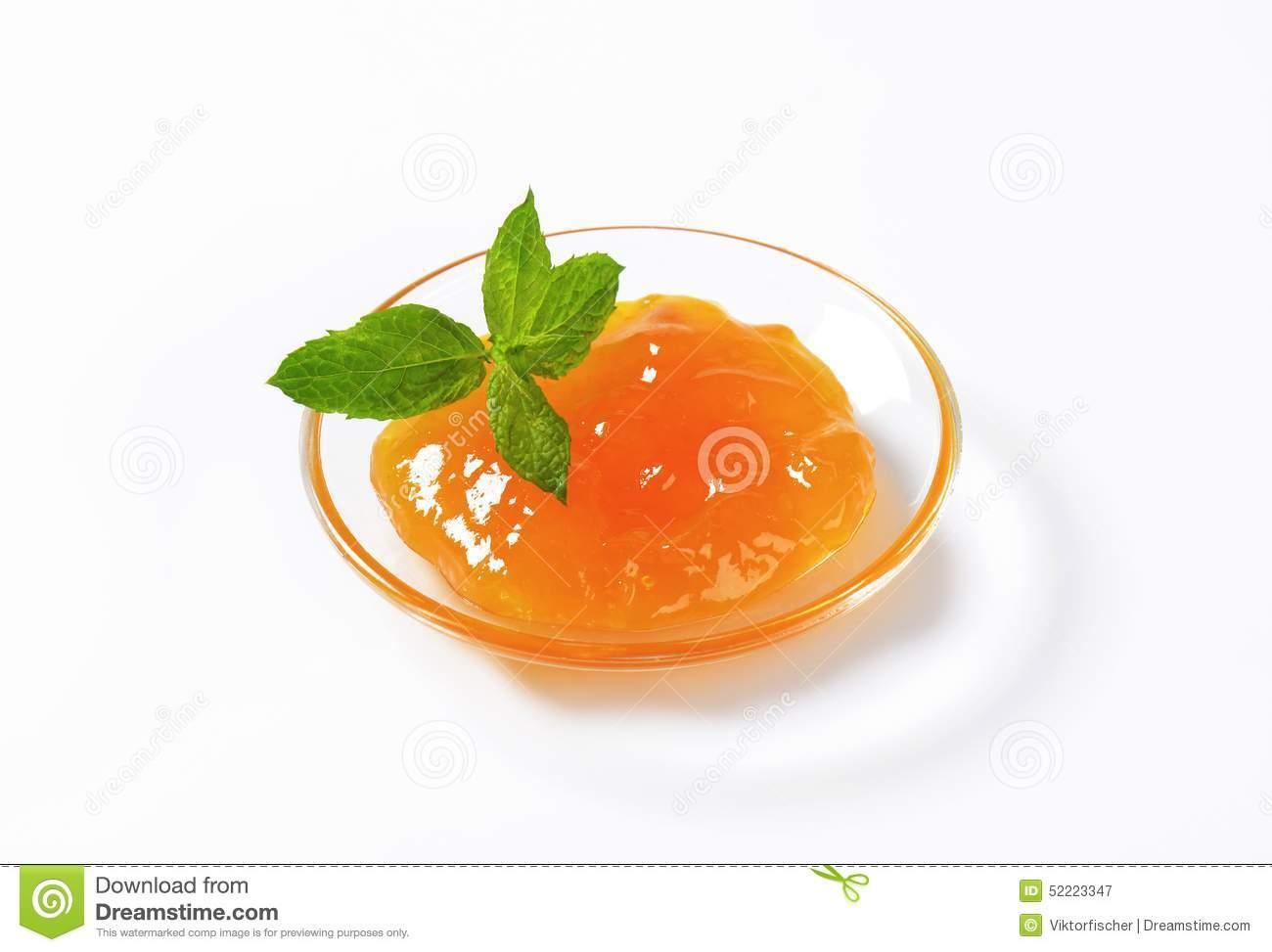 Apricot Marmalade Clipart.