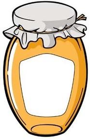 Apricot jam clipart #20