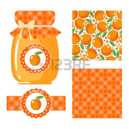 Apricot jam clipart #8