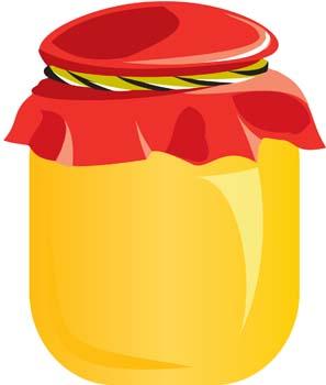 Apricot jam clipart #16