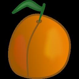 Apricot Clipart.