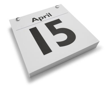 april 15th clipart #10
