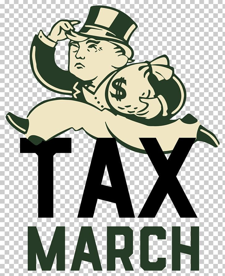 United States Tax March Protests Against Donald Trump April.