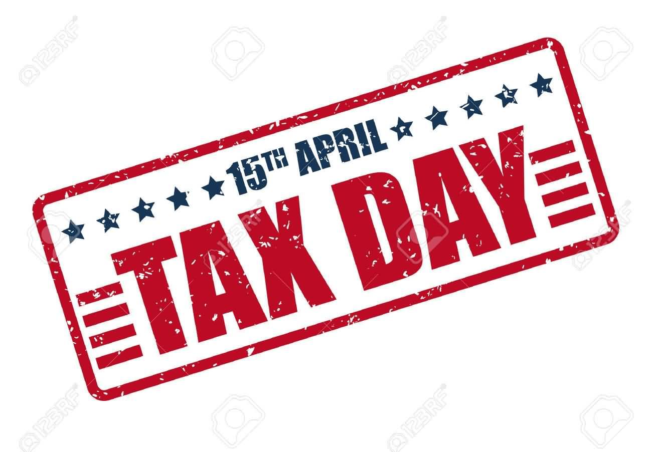 April 15 Tax Day Freebies Clipart.