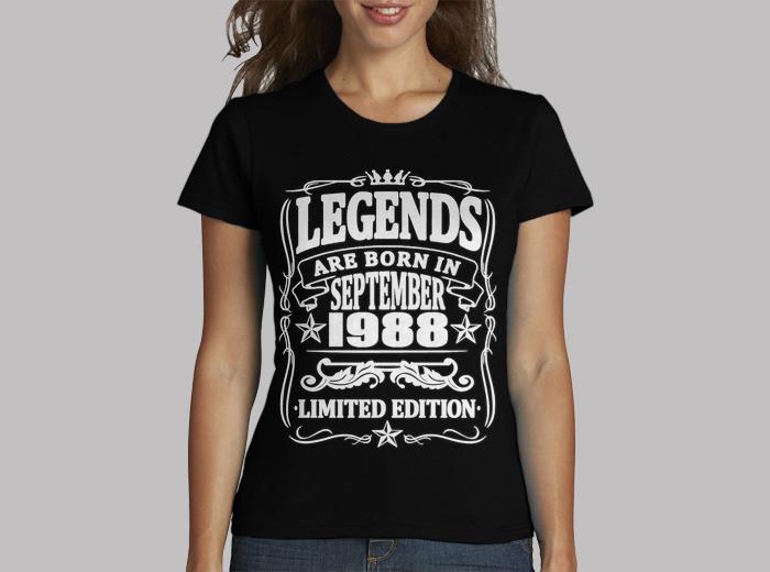 Legends born in september 1988 t.