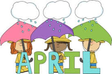 April calendar clip art.