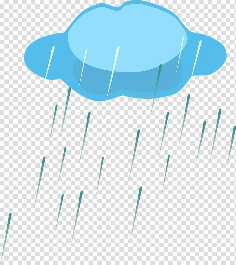 Rain April shower Cloud , Raining transparent background PNG.