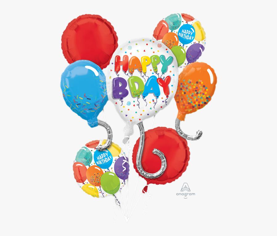 Happy Birthday April 6 2020 , Free Transparent Clipart.