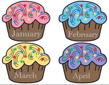 April clipart cupcake, April cupcake Transparent FREE for.