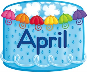 4264 April free clipart.