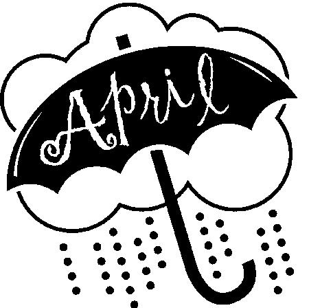 Free April Clip Art Black And White, Download Free Clip Art.