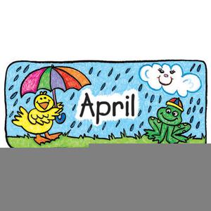 Free April Calendar Clipart.