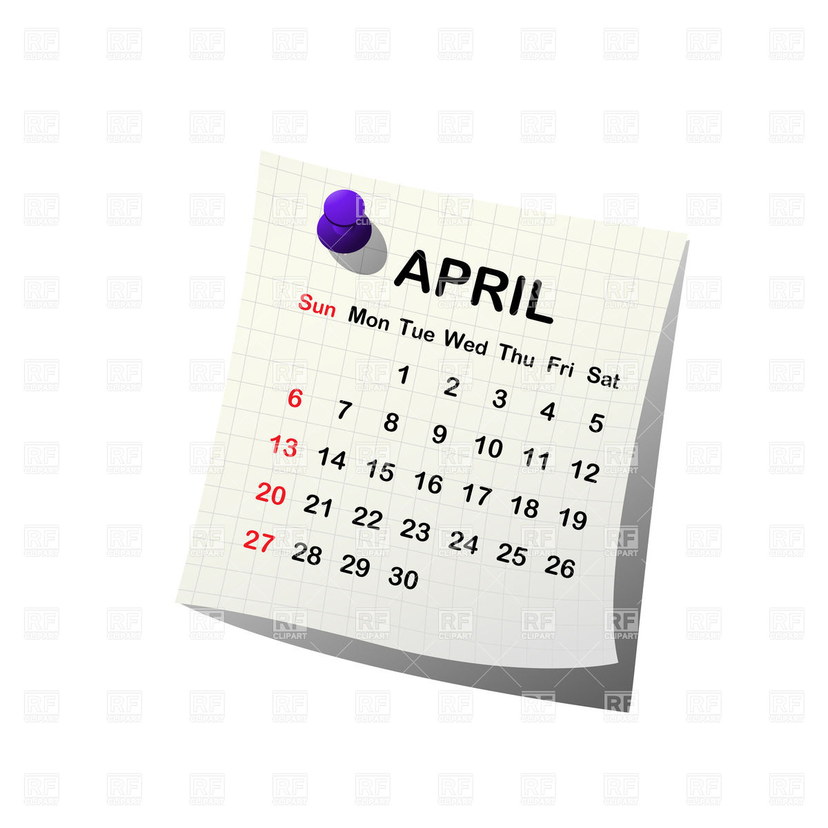 2014 paper calendar.