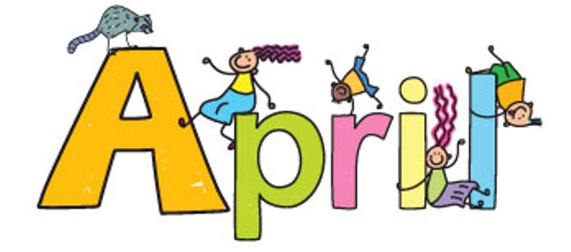 For April Clipart.