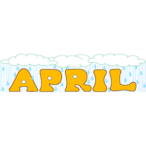 April clip art 9.