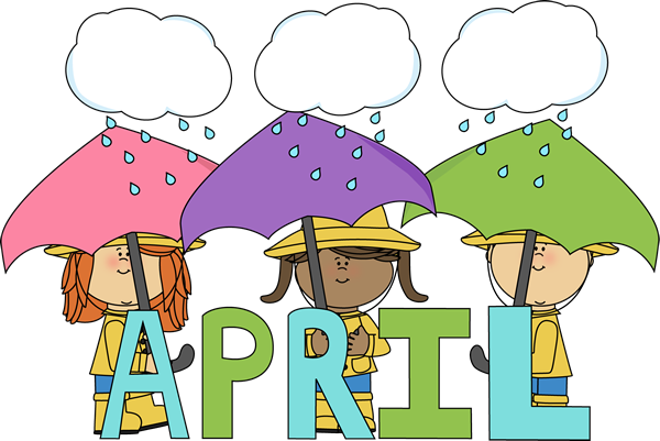 Clip Art > Month of April.