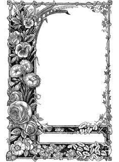 Printable April Clip Art.
