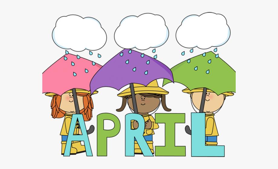Word Clipart April.
