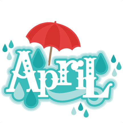 April clip art free.