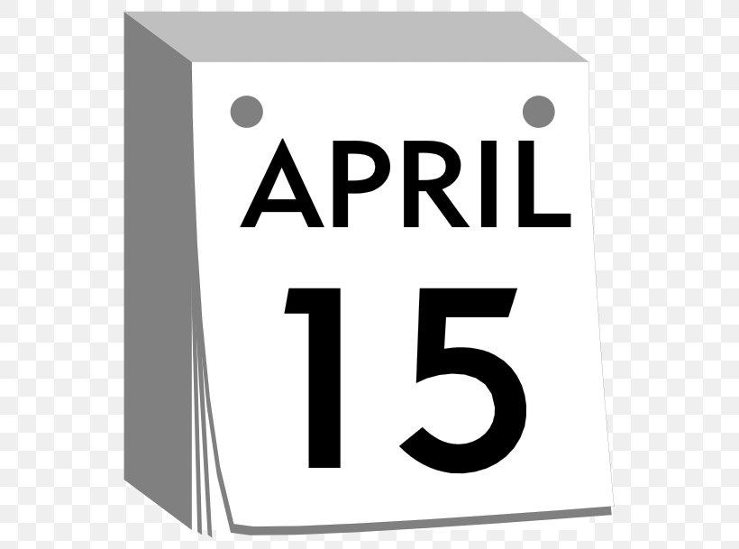 Calendar April Fools Day April 1 Clip Art, PNG, 569x609px.