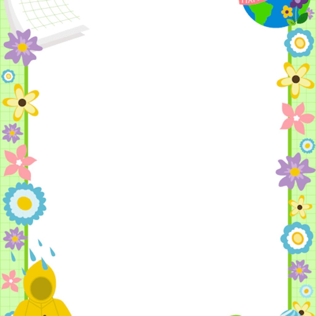 Download High Quality april clip art border Transparent PNG.