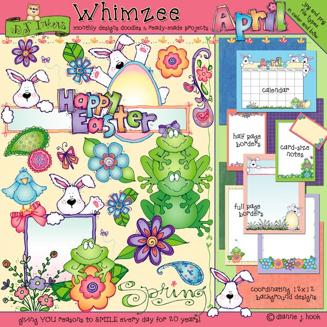 Our \'Whimzee\' collection is full of cute, coordinating clip.