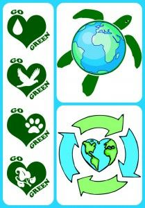 Celebrate Earth Day on April 22 — Recycle, Reduce and Reuse.