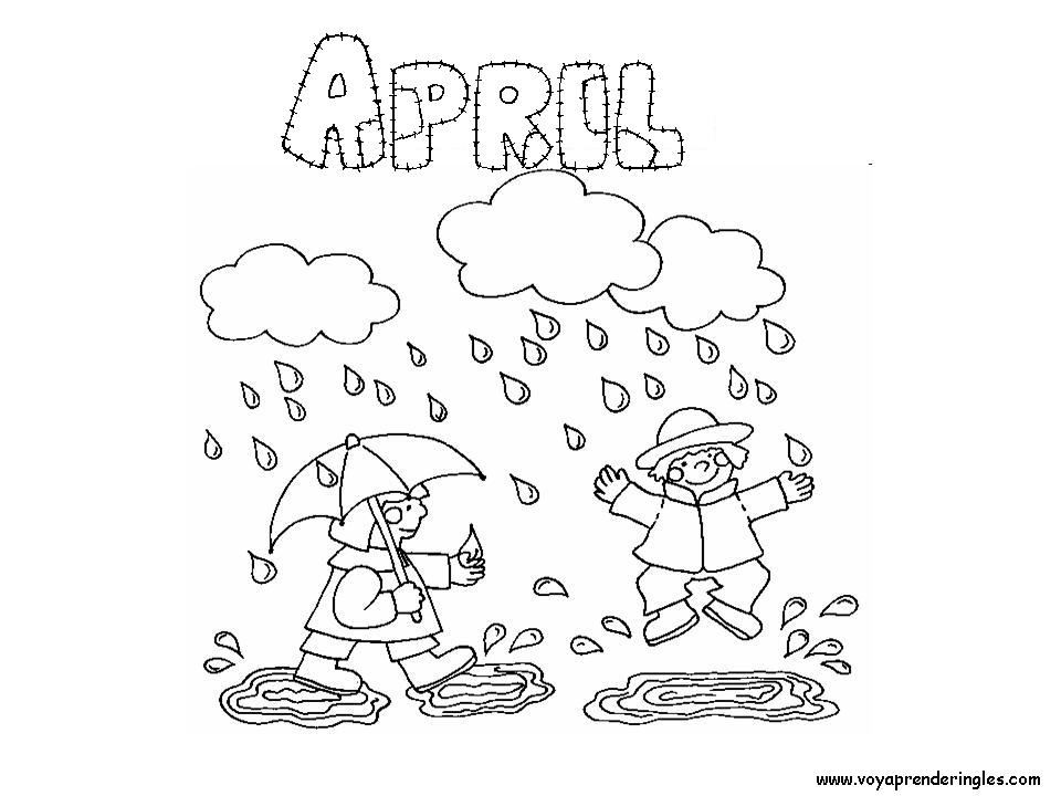 193 April Showers free clipart.