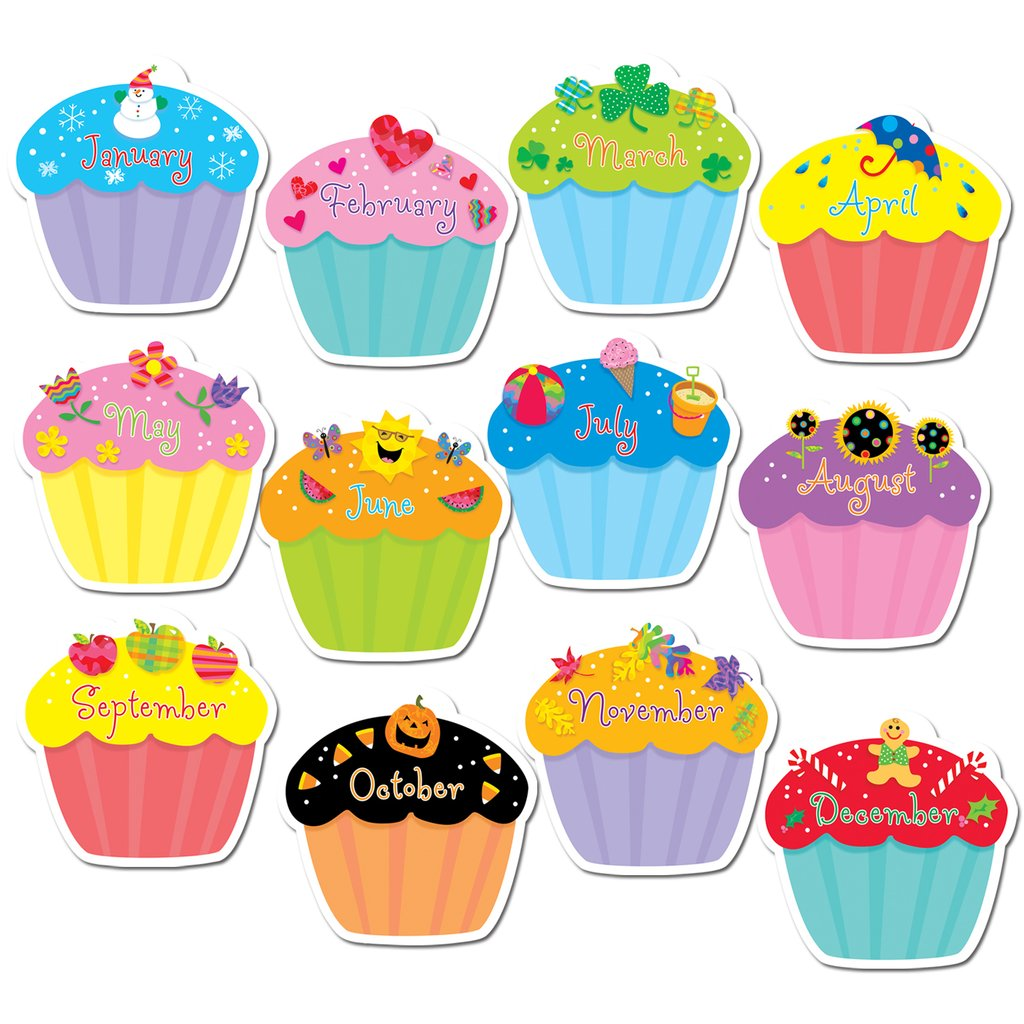 CUPCAKES JUMBO CUT OUTS.