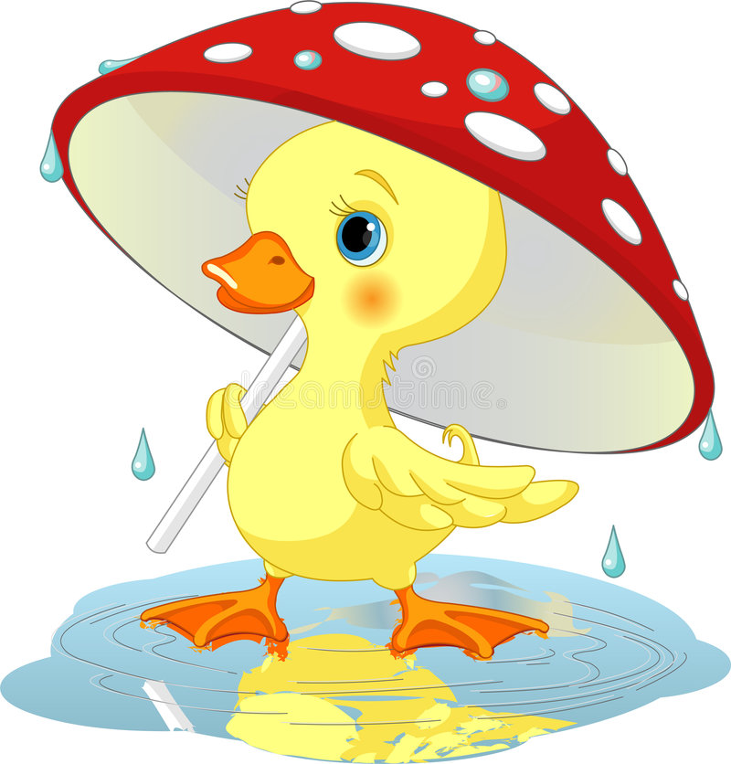 Duck clipart april shower, Duck april shower Transparent.