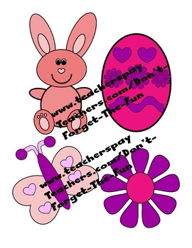 April/Spring/Easter Clipart.