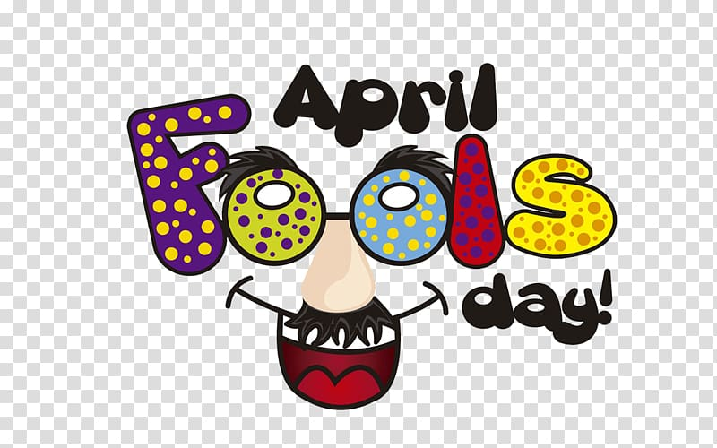 April Fool\\\'s Day Practical joke , others transparent.