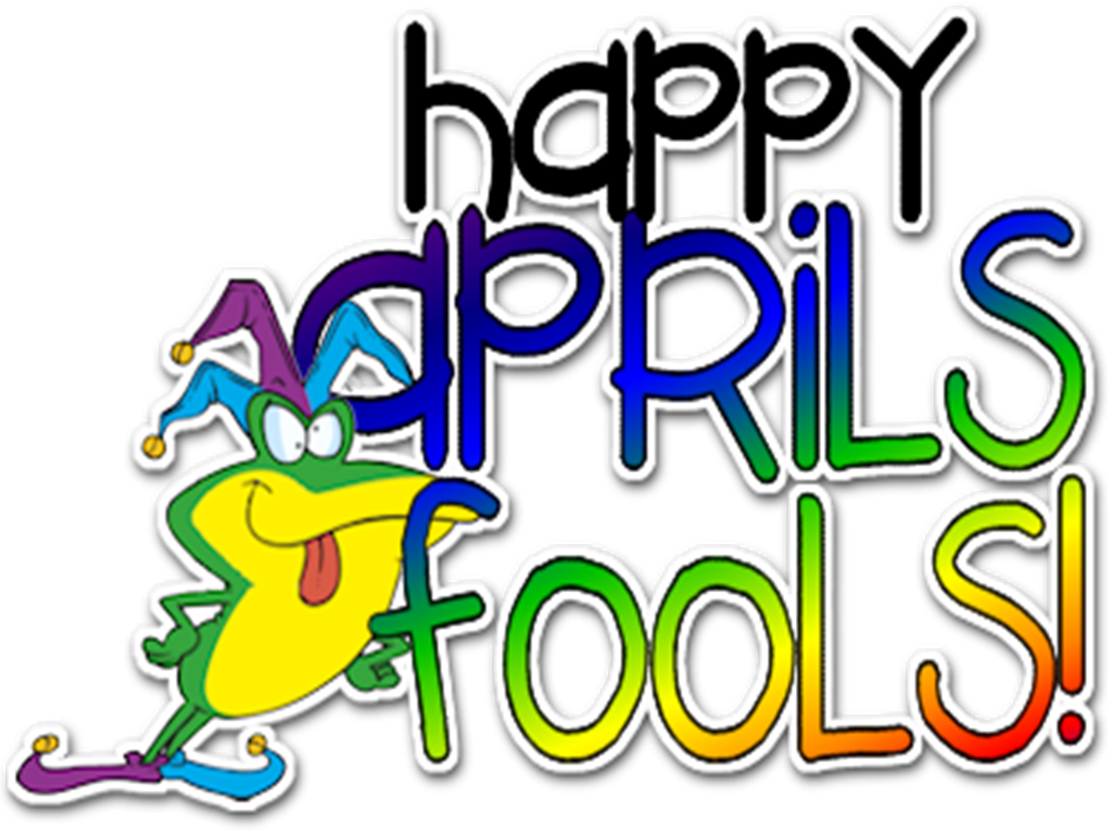 Hanging Off The Wire: Happy April Fool\'s Day 2016.